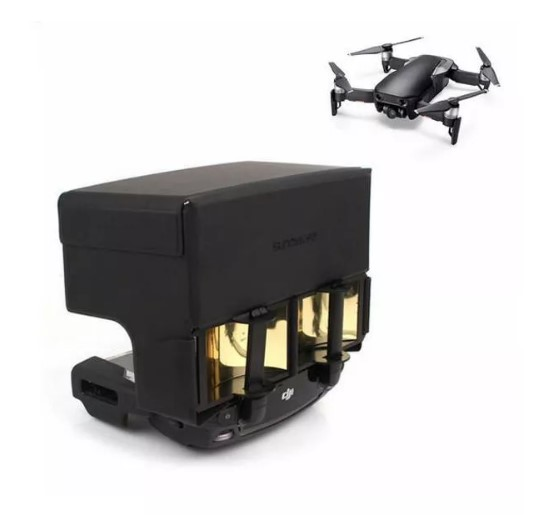 DJI Mavic Air Pro Spark Mirror Foldable Signal Extend Antenna Booster Sunshade Cover
