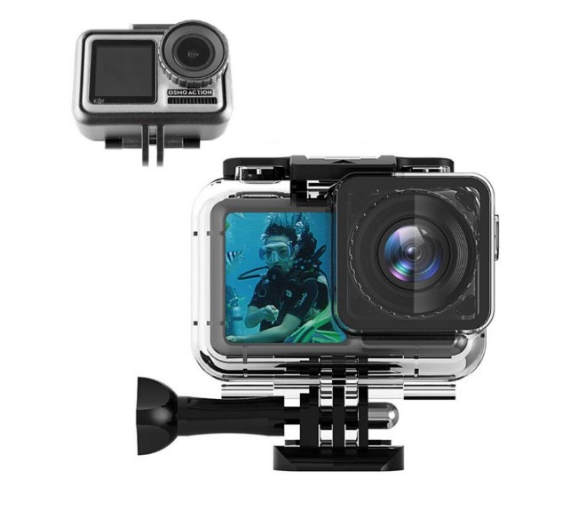 61 M Meters Waterproof Diving Housing Case for DJI Osmo Action Camera