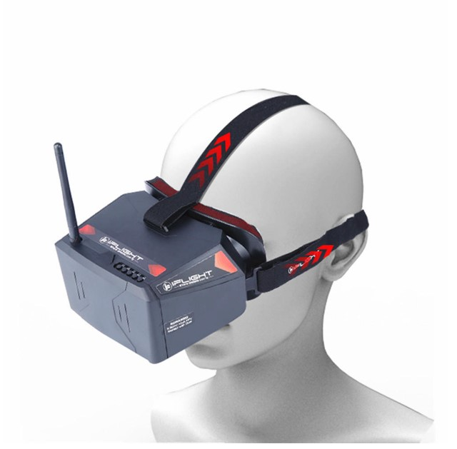 5.8Ghz 40CH Monitor FPV Goggles with DVR for RC FPV Racing Drone