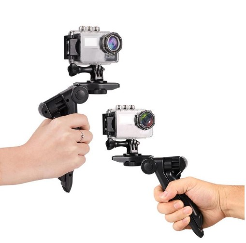 Handheld Desktop small tripod Portable Flexible Holder for GoPro Accessories