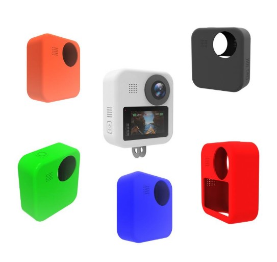 Silicone Armor Skin Case Body Cover Protector For GoPro MAX