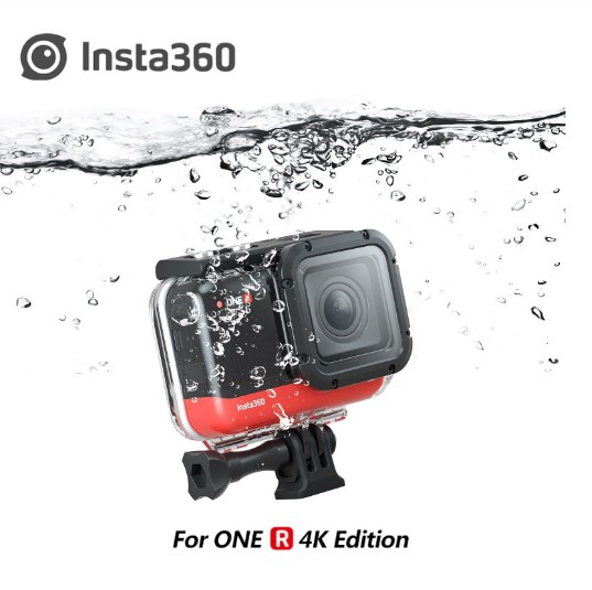 Waterproof Housing Cover For Insta360 ONE R