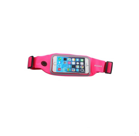 Romix RH01 Sports Waist Pouch For 4.7 Inch Rose Red